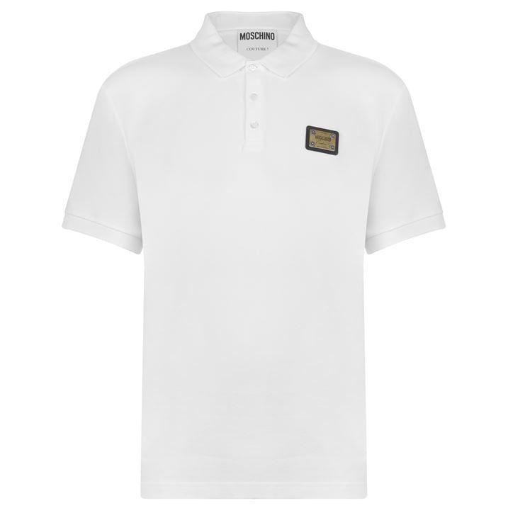 Plaque Polo Shirt