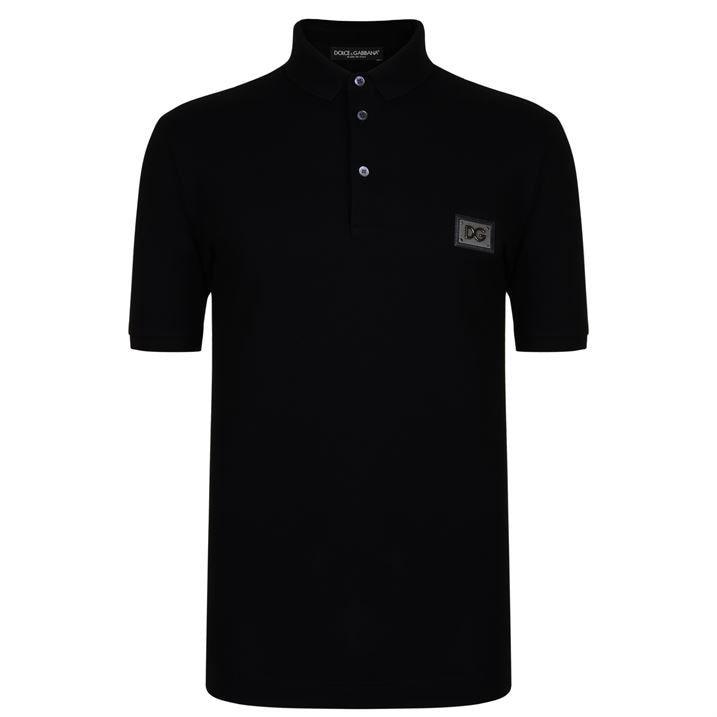 Rubber Plate Polo Shirt