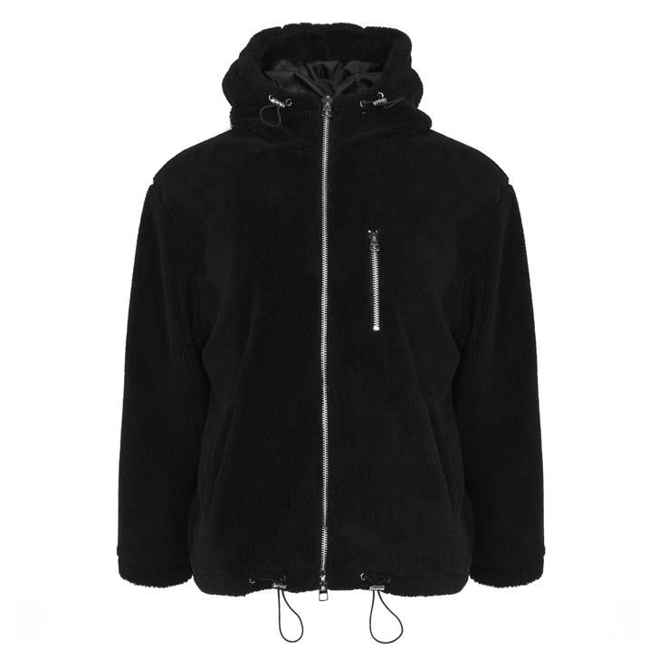 Sherpa Hood Jacket