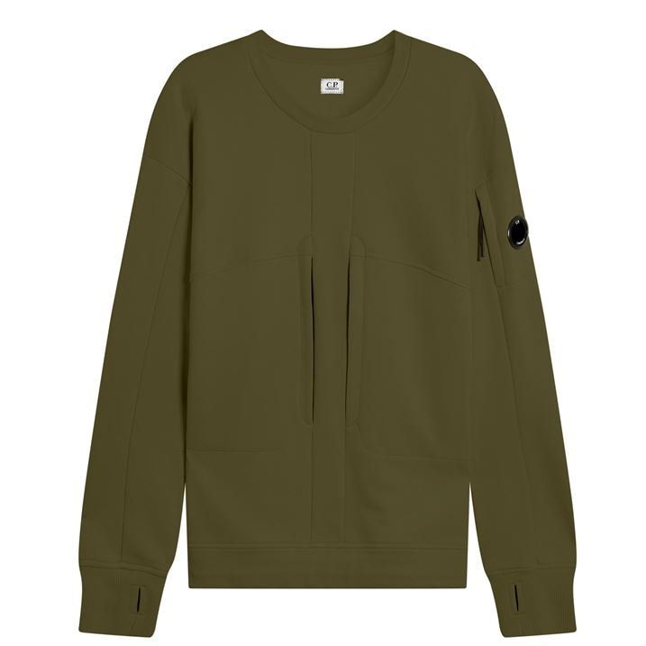 Zip Chest Sweater