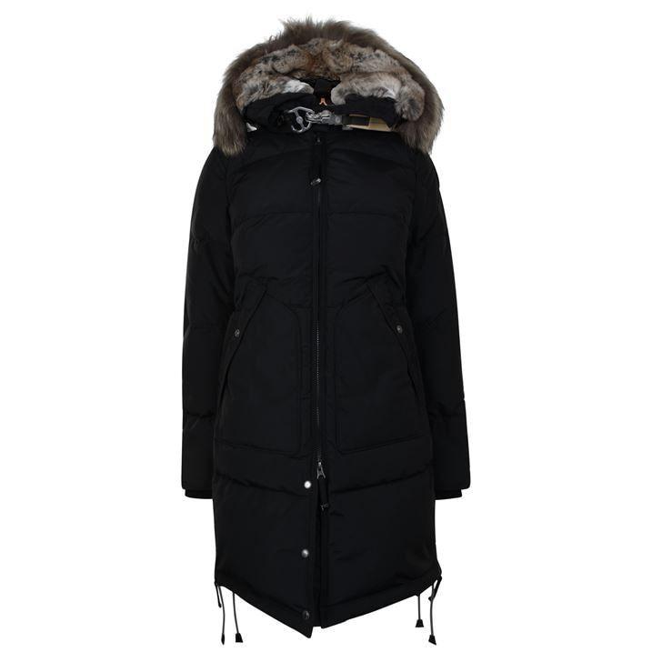Long Bear Fur Coat