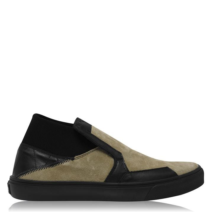 Suede Slip On Trainers