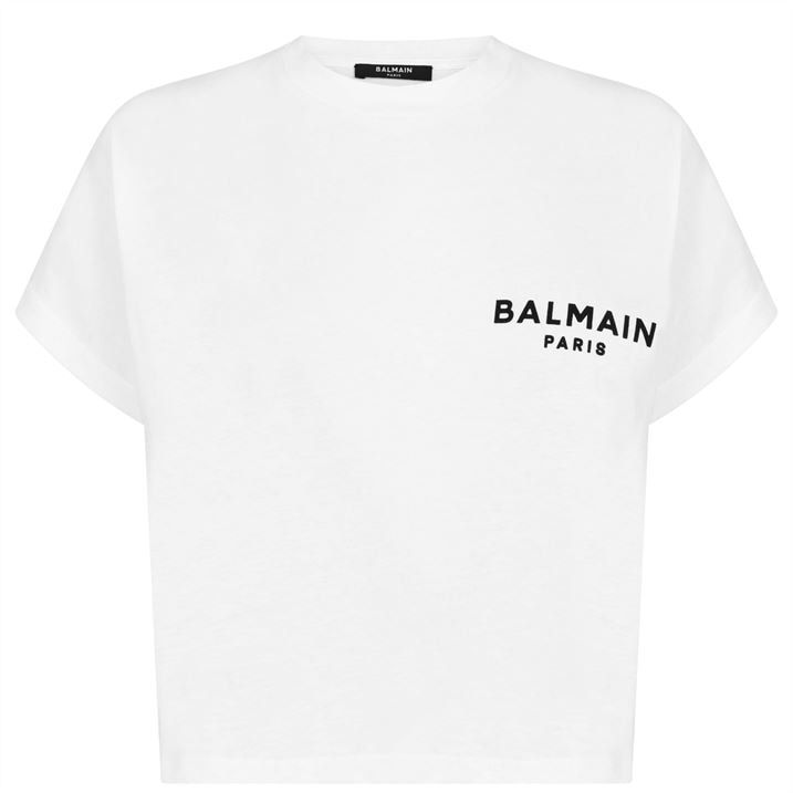 Short Sleeved Small Logo T Shirt