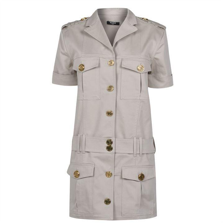 Cargo Button Dress