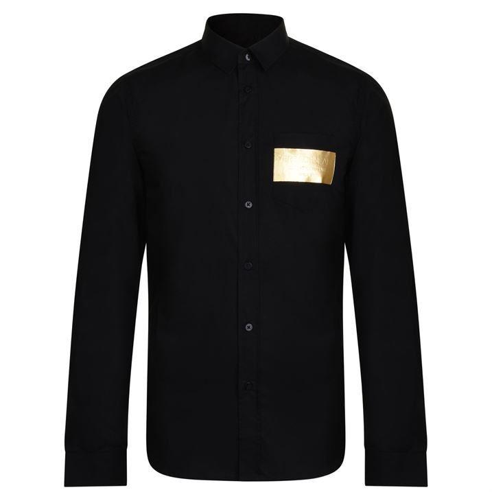 Foil Pocket Long Sleeve Shirt
