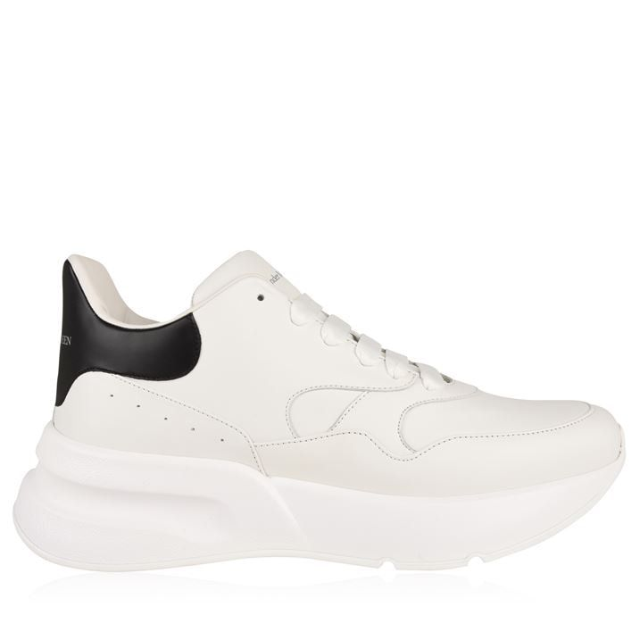 Oversized Lace Up Runner Trainers