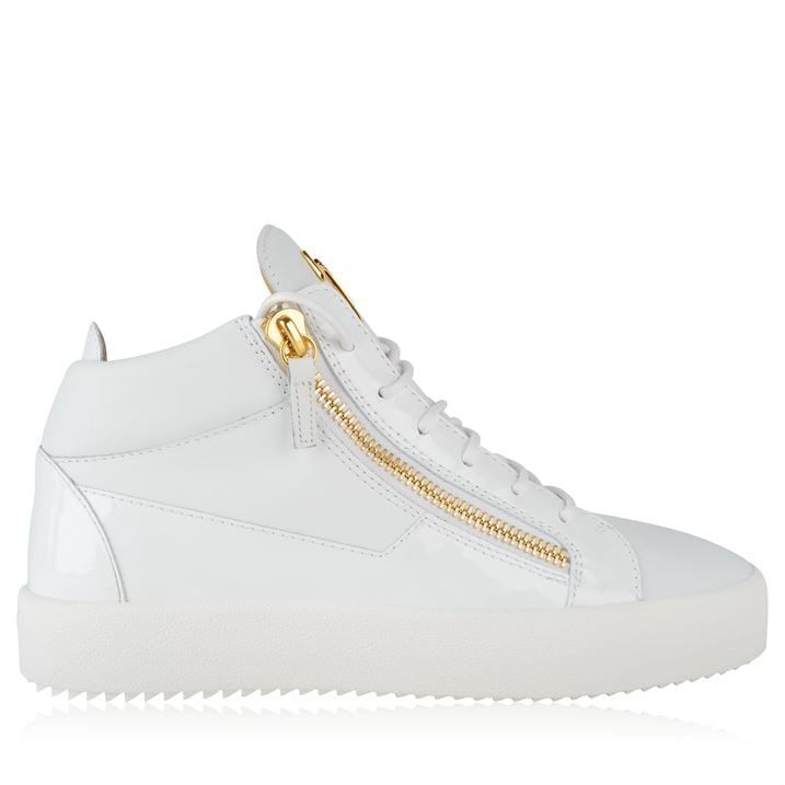 May Patent High Top Top Trainers