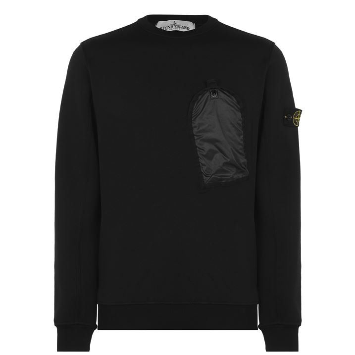 Junior Boys Badge Pocket Sweatshirt