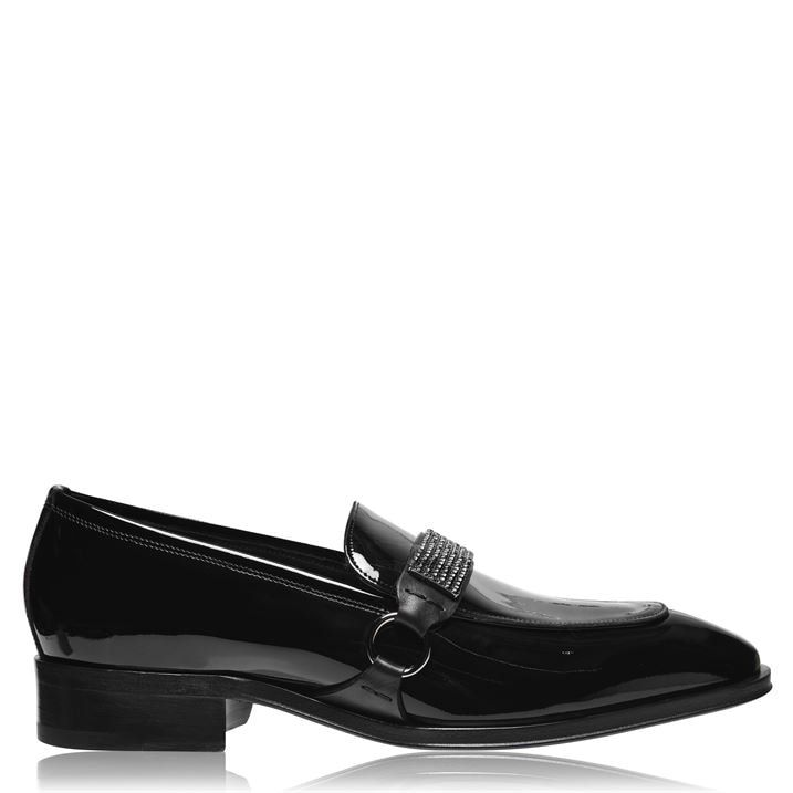 Patent Strap Loafers