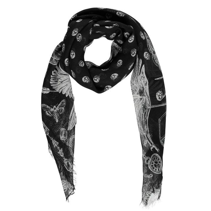 Etched Scarf