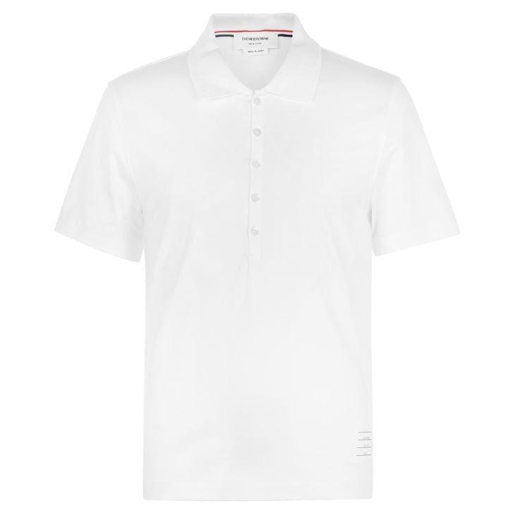 Relaxed Short Sleeve Polo Shirt