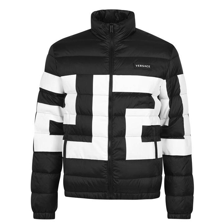 Greca Padded Jacket