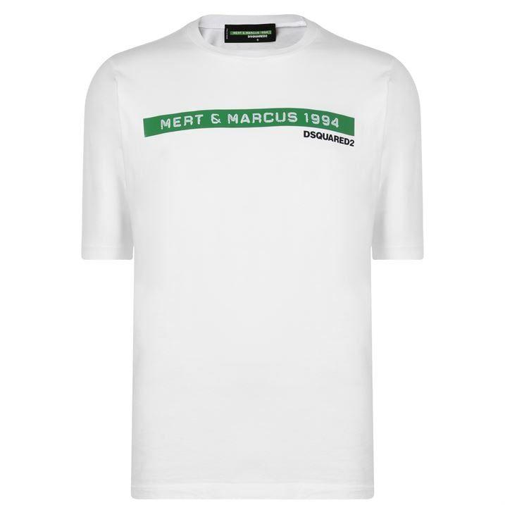 Mert  And  Marcus Logo T Shirt