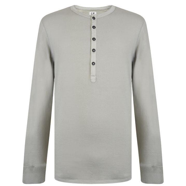 Button Long Sleeve T Shirt