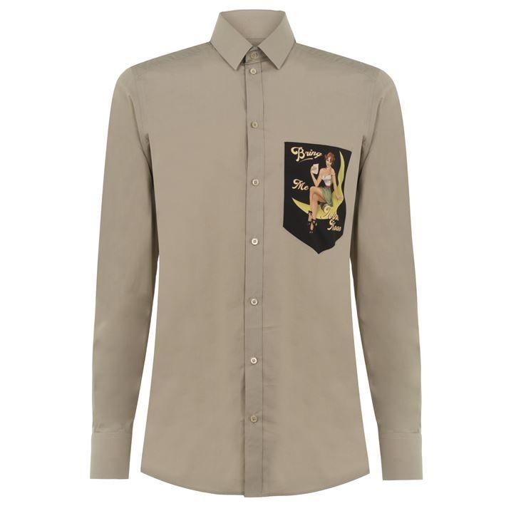 Long Sleeved Pinup Moon Shirt