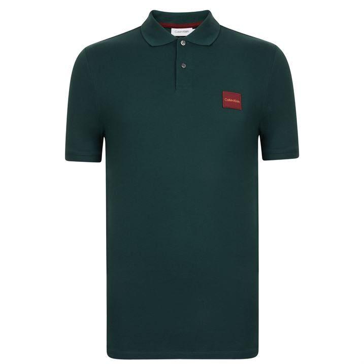 Pima Badge Polo Shirt