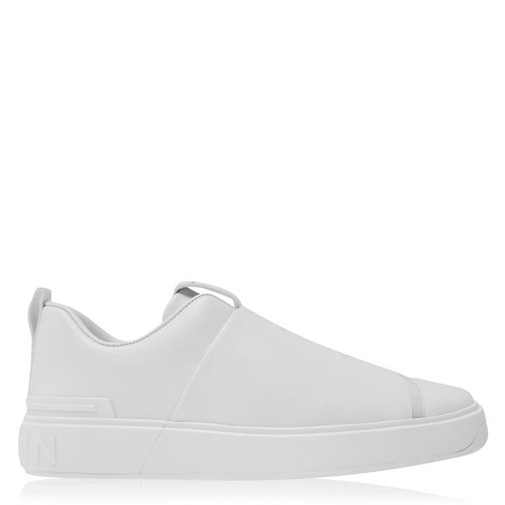 Embossed Low Trainers