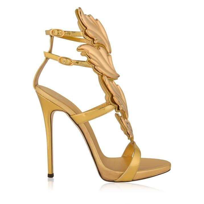 Cruel Leather Sandal Heels