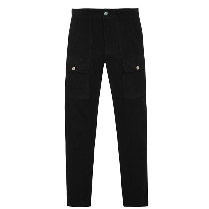 Cropped Cord Trousers