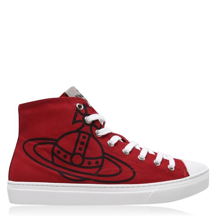 Orb Canvas High Top Trainers