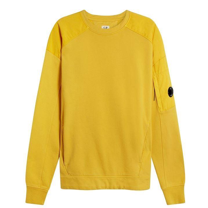 Panelled Crew Neck Sweatshirt