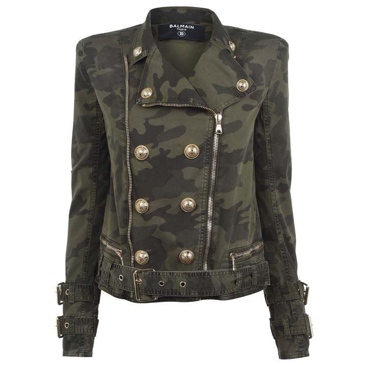 Camo Biker Jacket