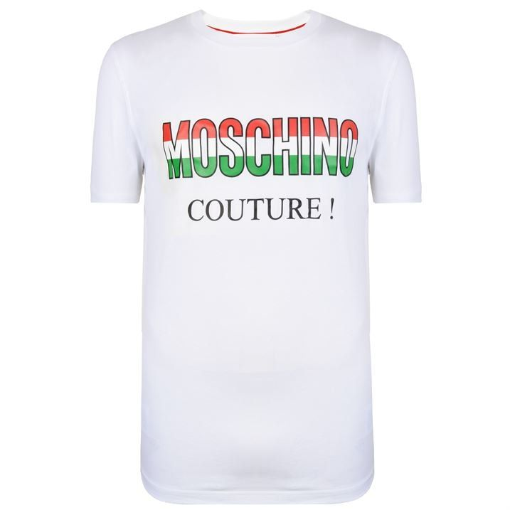 Italy Couture Logo T Shirt