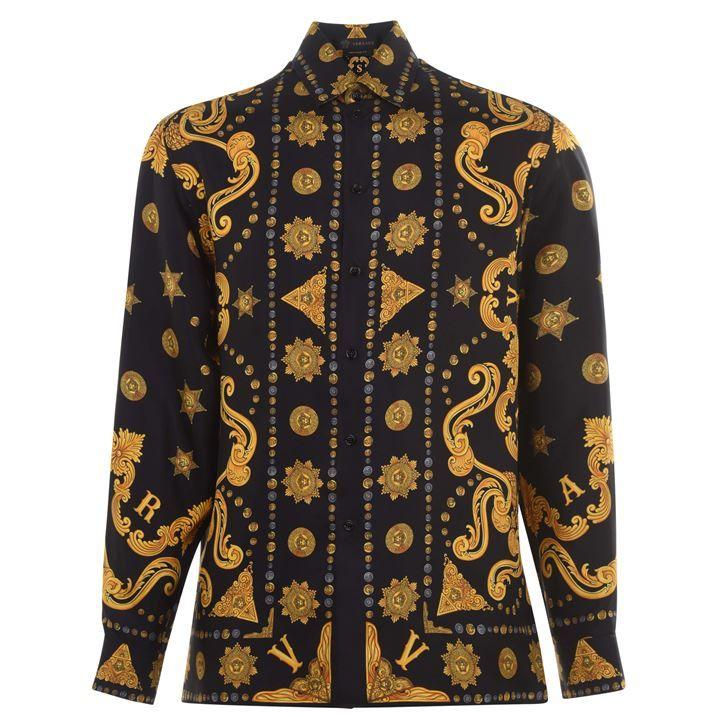 Versace Bandana Long Sleeve Shirt