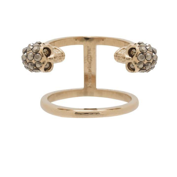 Skull Double Ring