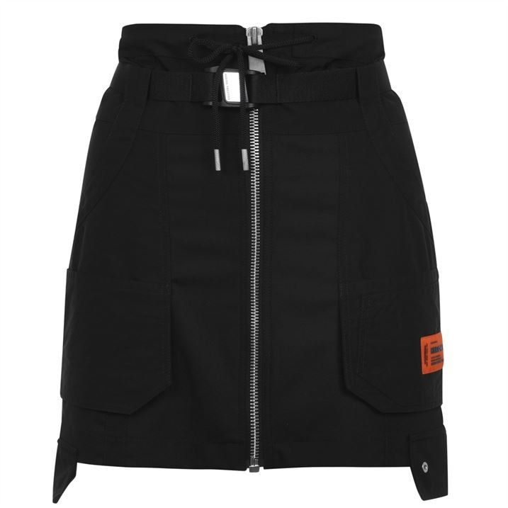 Tailoring Cargo Skirt