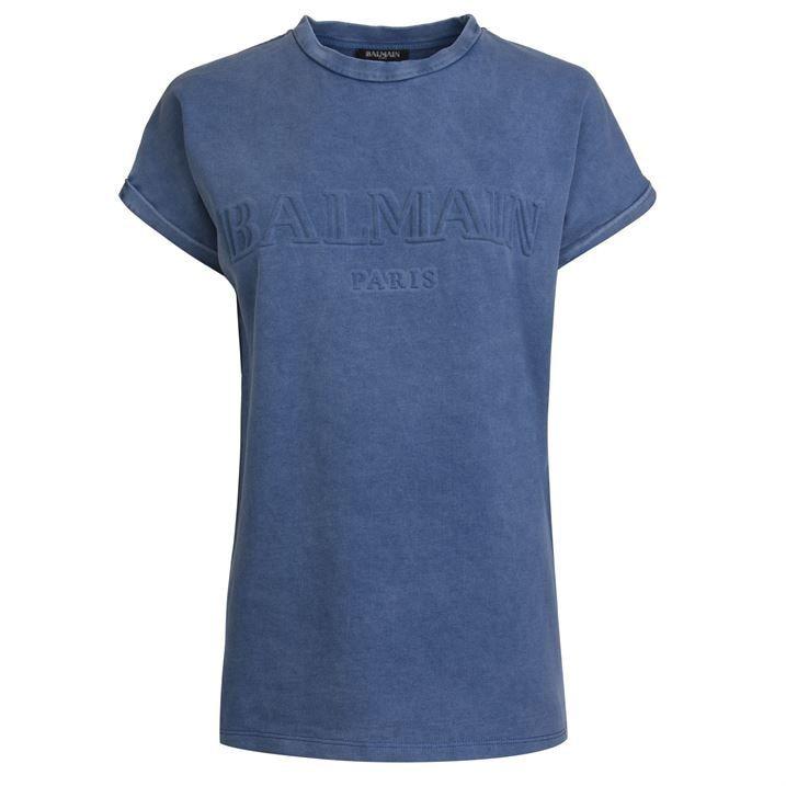 Embossed Logo T Shirt