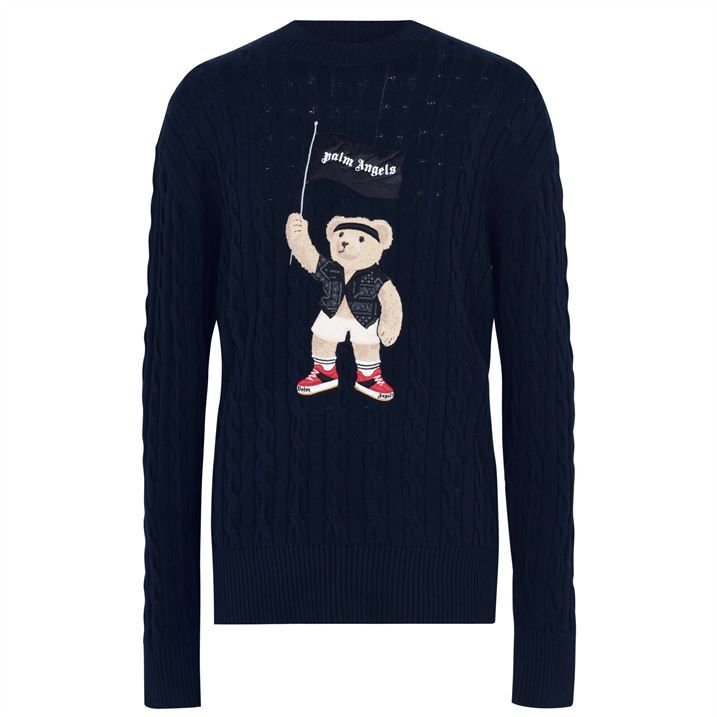 Pirate Bear Cable Knit Jumper