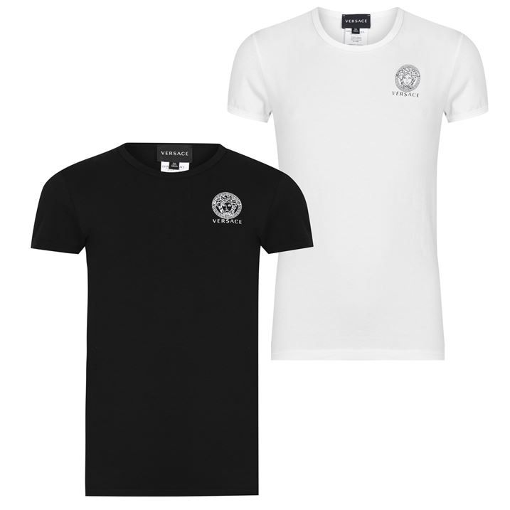 Two Pack Crew Neck T Shirts Junior Boys