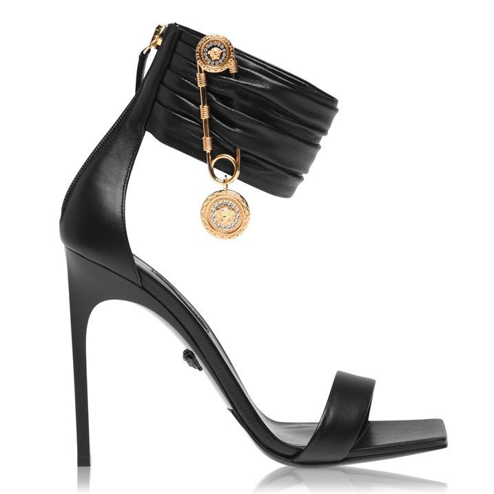 Safety Pin 110 Heeled Sandals
