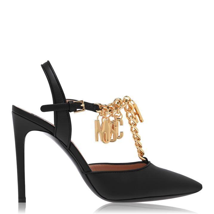 Chain Pump Stiletto Heels