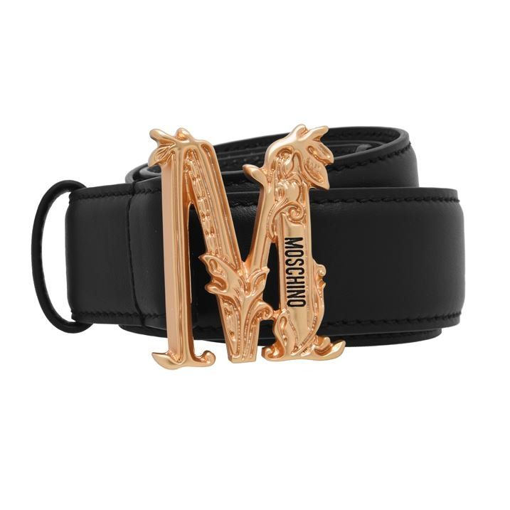Moschino M Logo Belt