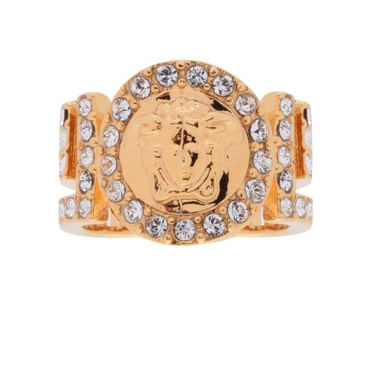Versace Icon Medusa Crystal Ring