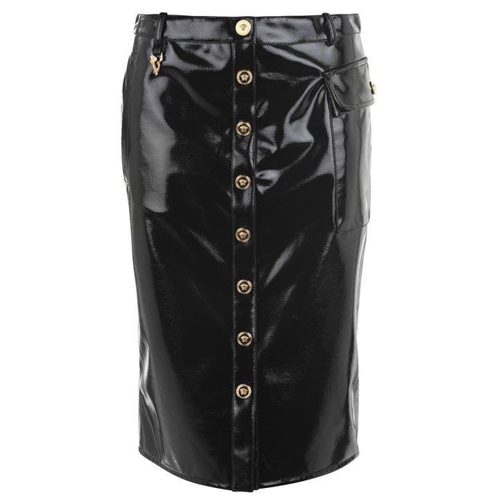 Medusa Pvc Midi Skirt