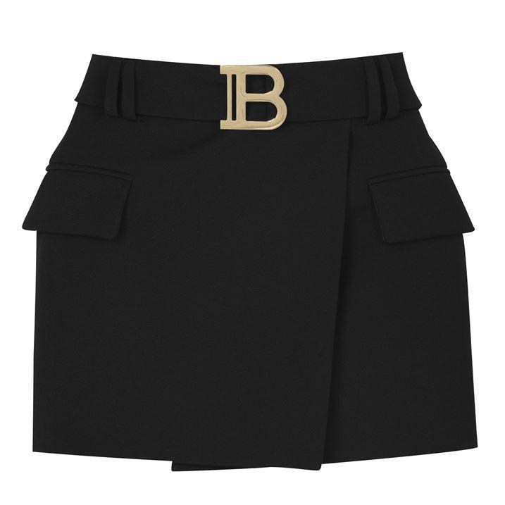 B Belt Skirt