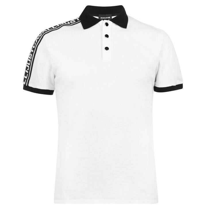 Just Cavalli Tape Polo Shirt