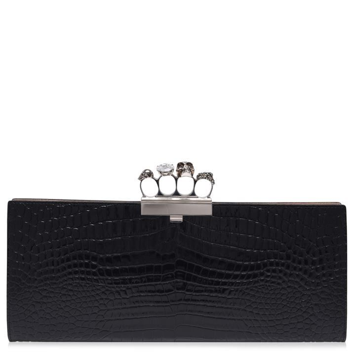 Skull Four Ring Long Pouch