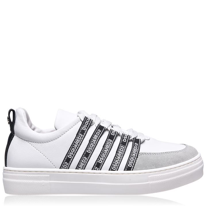 Logo Lace Trainers