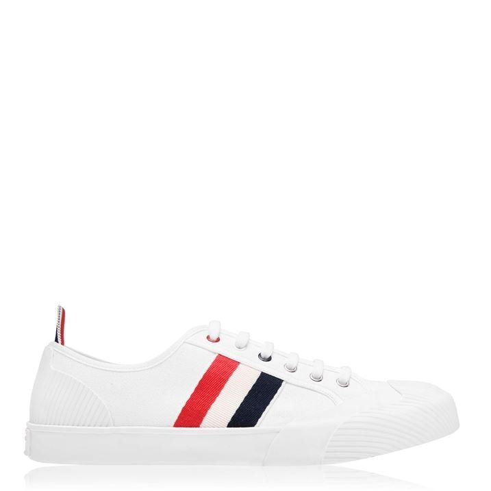 Low Top Striped Shoes