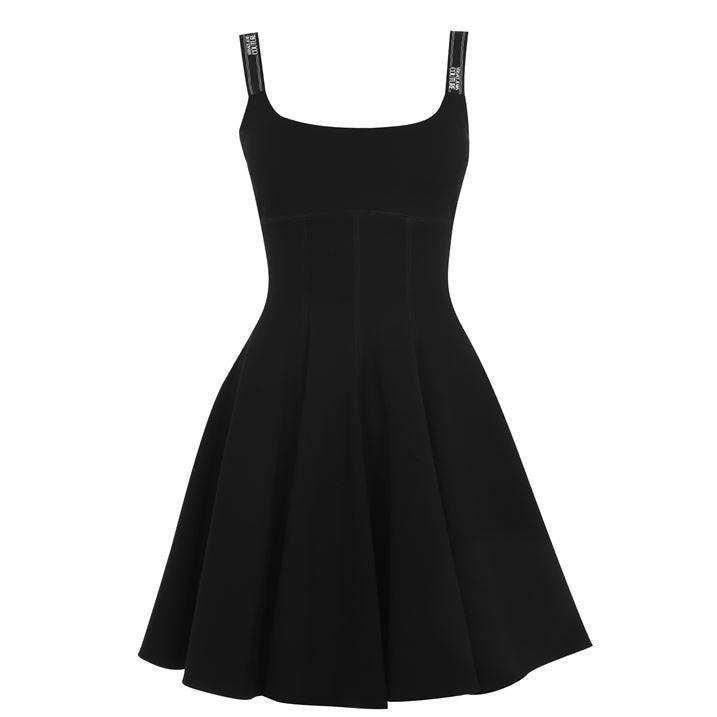Taping Skater Dress
