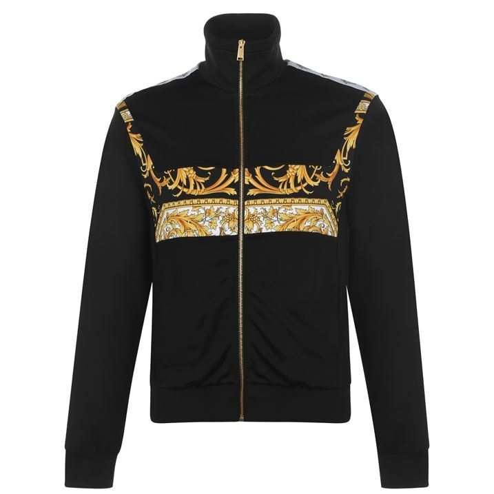 Baroque Chest Tracksuit Top