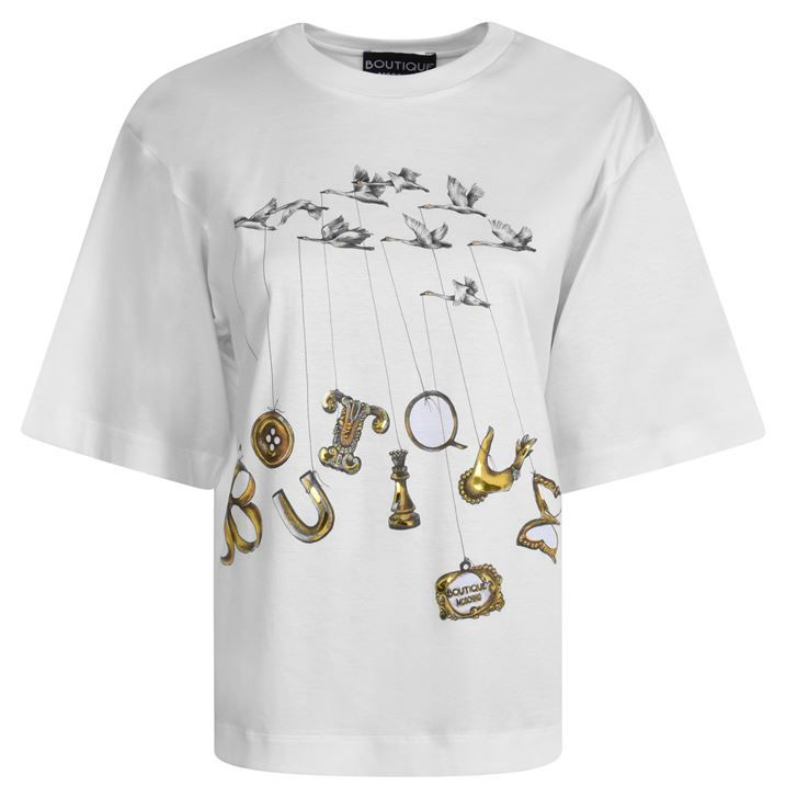 Bird Logo T Shirt