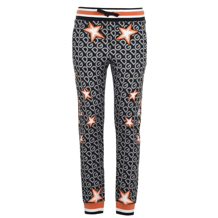 All Over Print Star Logo Joggers