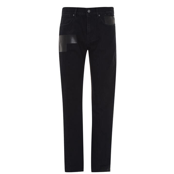 Taped Slim Jeans