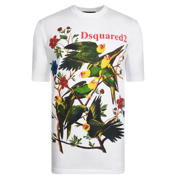Floral Logo T Shirt