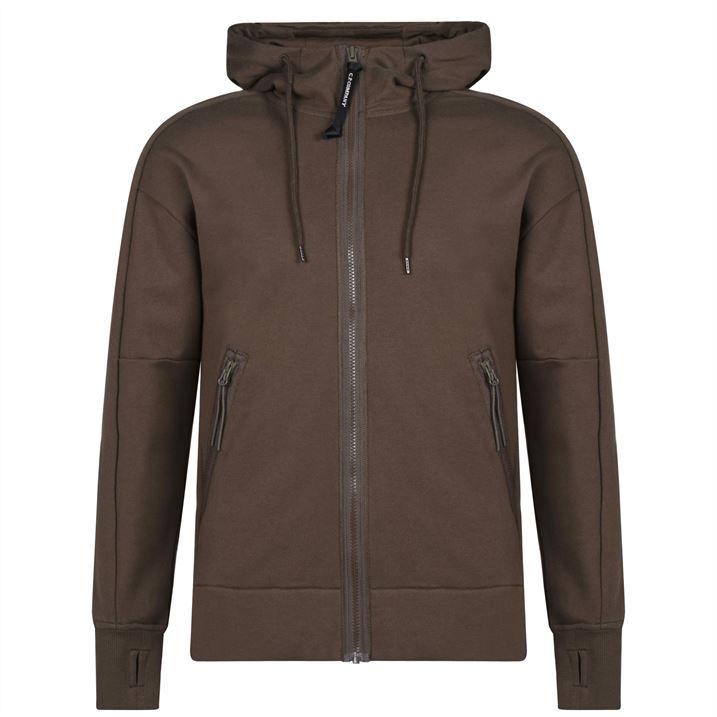 Goggle Zip Hooded Sweatshirt